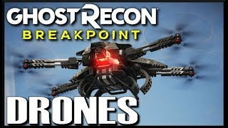 The Basic GHOST RECON BREAKPOINT Guide to Drones
