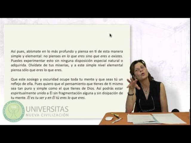 La Nube Del No Saber Teresa Guardans Youtube