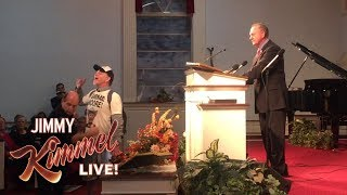 Jake Byrd at Roy Moore Rally in Alabama