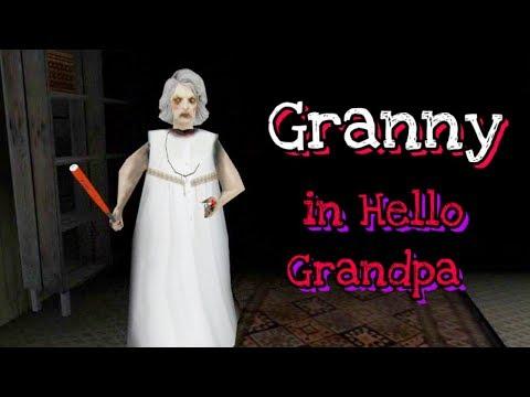 Granny In Hello Grandpa Horror Game