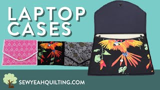 How to Sew a Laptop Case!