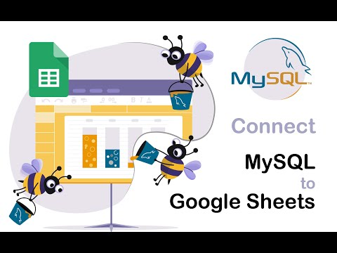 How to import MySQL to Google Sheets in 2020
