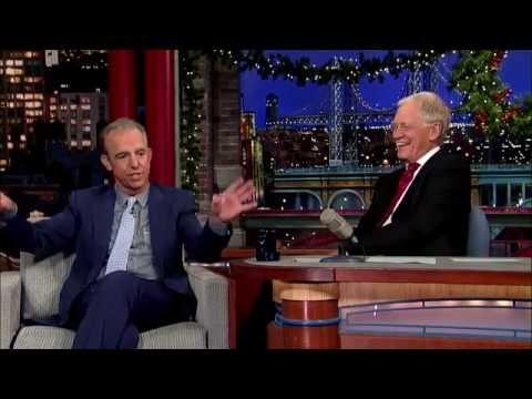 Jay Thomas' Lone Ranger Story Letterman Dec 2014