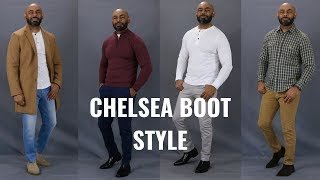 How To Wear Chelsea Boots/How To Style Men's Chelsea Boots