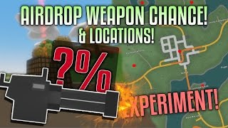Unturned AIRDROP WEAPON CHANCE &  WASHINGTON LOCATIONS (Experiment)