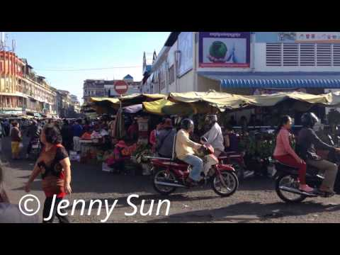 Country Food, Top Asian Market Street Food, Lively Living Outside OuRussey Market, Cambodian Market