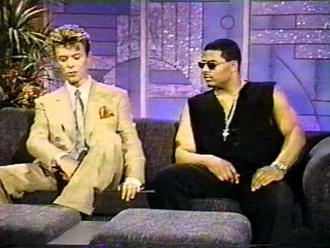 Part 4-David Bowie on Arsenio Hall Show. July '93.
