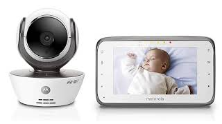 Motorola MBP854CONNECT Dual Mode Baby Monitor with LCD Parent Monitor and Wi Fi Internet Viewing
