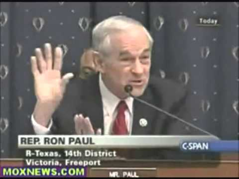 Ron Paul  I Swear, Ben Bernanke Is A Puppet For The District Of Criminals! 360p