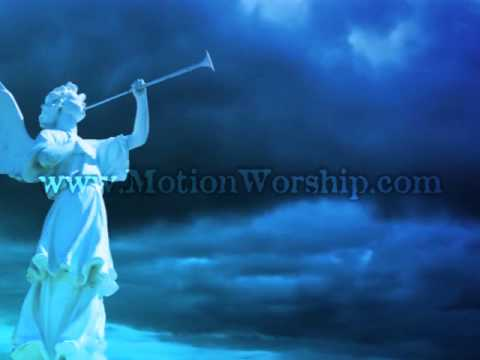 Angel with Trumpet Christmas Motion Background - YouTube
