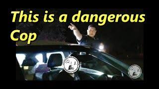Dangerous Cop in Colfax Washington