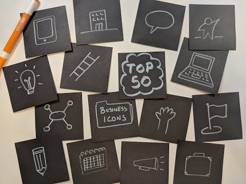 Top 50 Business Icons - Whiteboard Wednesday