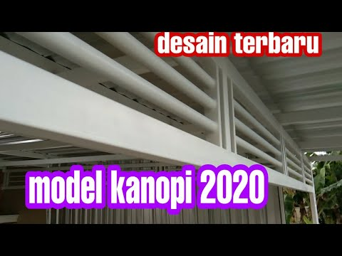 Kanopi Rumah Minimalis Motif Terbaru 2020 Youtube