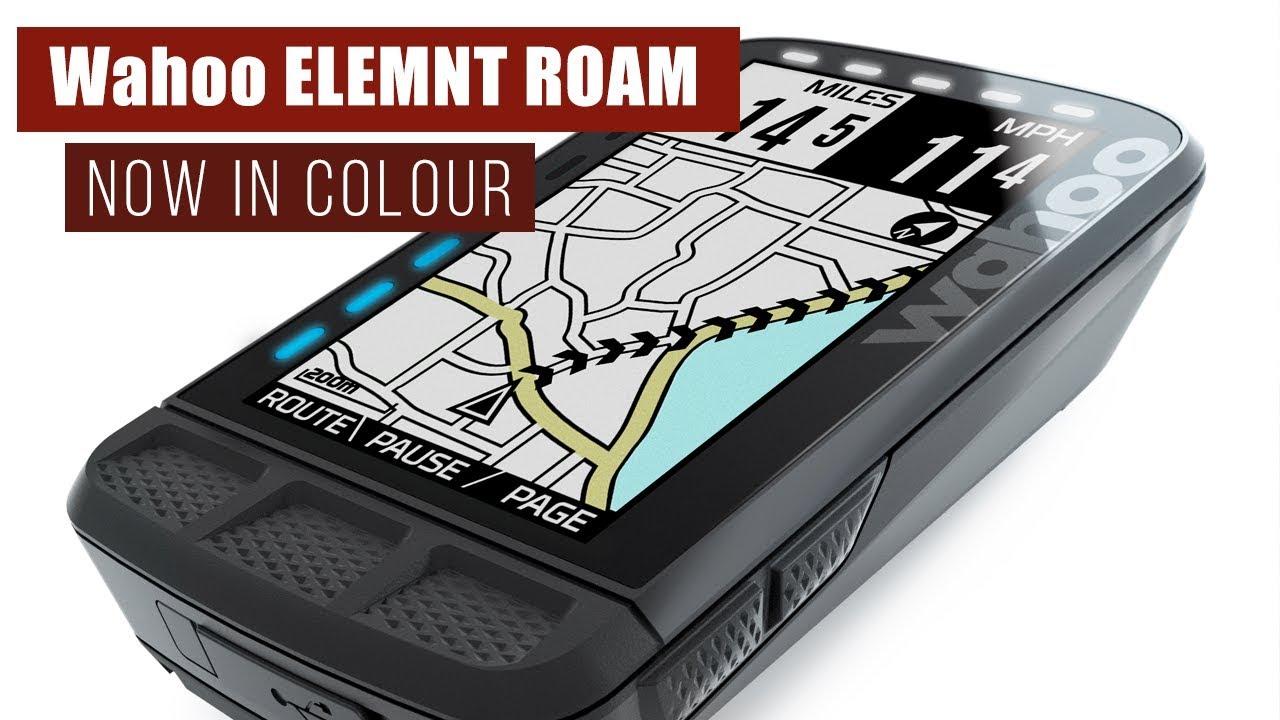 Review: Wahoo Elemnt Roam   road cc