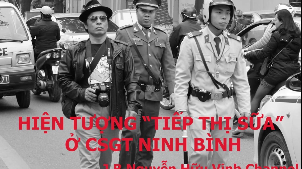 """NINH BÌNH: """"TIẾP THỊ SỮA"""" TẠI TRẠM CSGT"""
