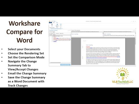 Workshare Compare for Word