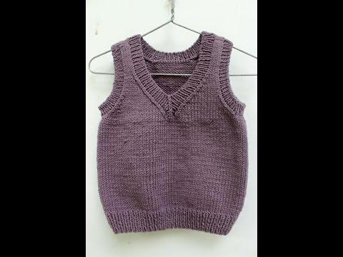đan áo ghi lê cho bé part 2