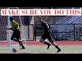 soccer self training technique for rapid improvement and growth