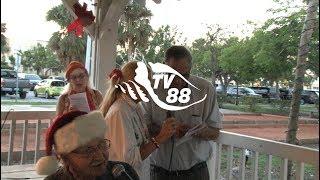 Santa Claus visits the City of Marathon, Florida November 26, 2017- video by TV88
