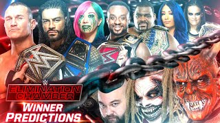 Elimination Chamber 2021 Match Card & Winner Predictions | WWE Elimination Chamber 2021 Winners