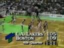 NBA on TBS - Lakers at Celtics, December 1987 - 1/3