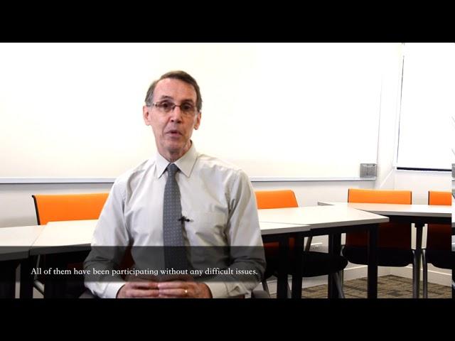 James Cook University Singapore - Chia sẻ của thầy Patrick về việc dạy học trực tuyến tiếng Anh