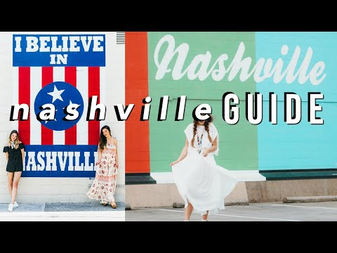 The Ultimate NASHVILLE Travel Guide: Where To Eat, Drink, Play 2020 || Sarah Belle