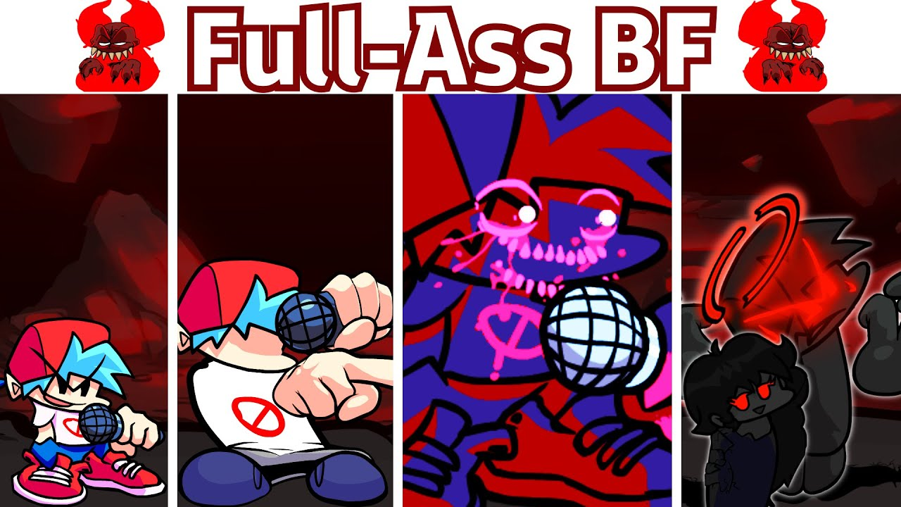 Download Full-Ass Tricky Mod but BF & Tricky Are Swapped FULL WEEK - Friday Night Funkin' Madness Combat Mod