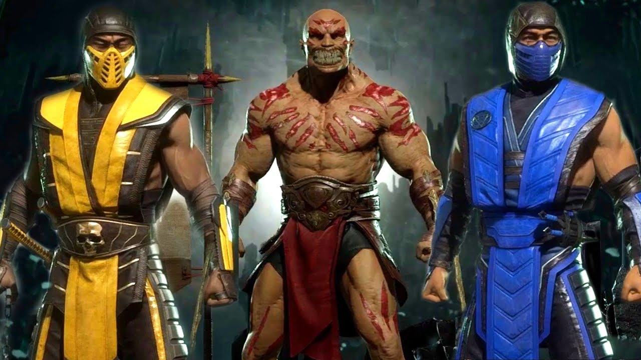 Mortal Kombat 11 All Costume Skin Variations So Far In Photo Mode 1080p 60fps Youtube
