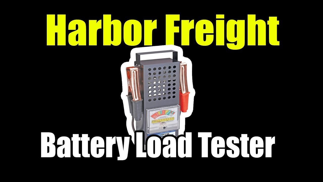 Low Battery Tester Harbor Freight : Harbor freight amp battery load tester youtube