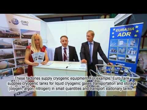 "Mark Frenkel (Eurasia ADR, Germany) about the 13th Exhibition ""Cryogen-Expo - 2014"""