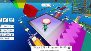 Roblox Mega Fun Obby 2 Hholykukingames Plays Stages 270 To 275 Plus Code