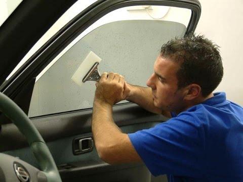 Тонировка стекол авто своими руками фото 540