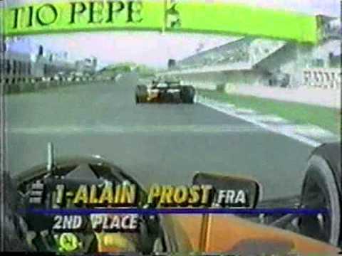 Senna vs Prost - 1990 Spanish Grand Prix
