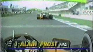 Senna vs Prost - 1990 Spanish Grand Prix