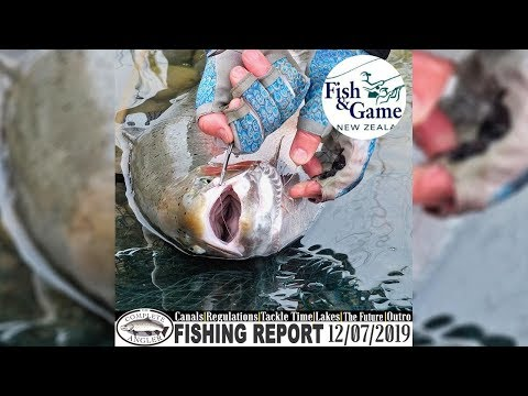 New Regulations At The Twizel Canals - CA Fishing Report 12.07.2019