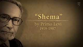 "Poetry in Holocaust Education Part 2/4: ""Shema"" by Primo Levi"