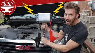 Make it Real: THOR'S HAMMER BATTERY?! (+ Local Meetup)