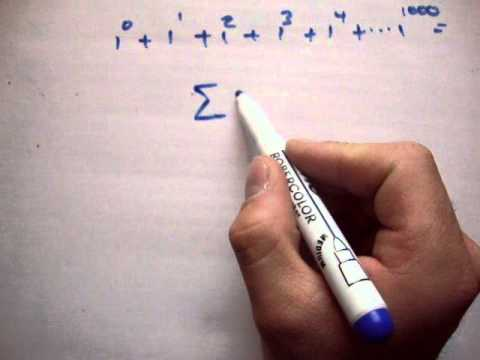 Maths What Does Capital Sigma Mean Youtube