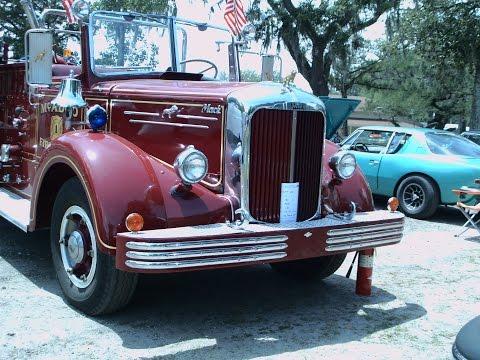 1951 Mack Pumper Truck McAdoo Fire Dept Red LakeHelen043016