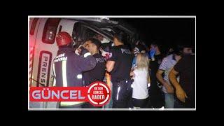 SON DAKİKA: Bursa'da tur otobüsü devrildi! Ölü ve yaralılar var