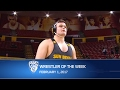Arizona State's Tanner Hall named Pac-12 Wrestler of the Week