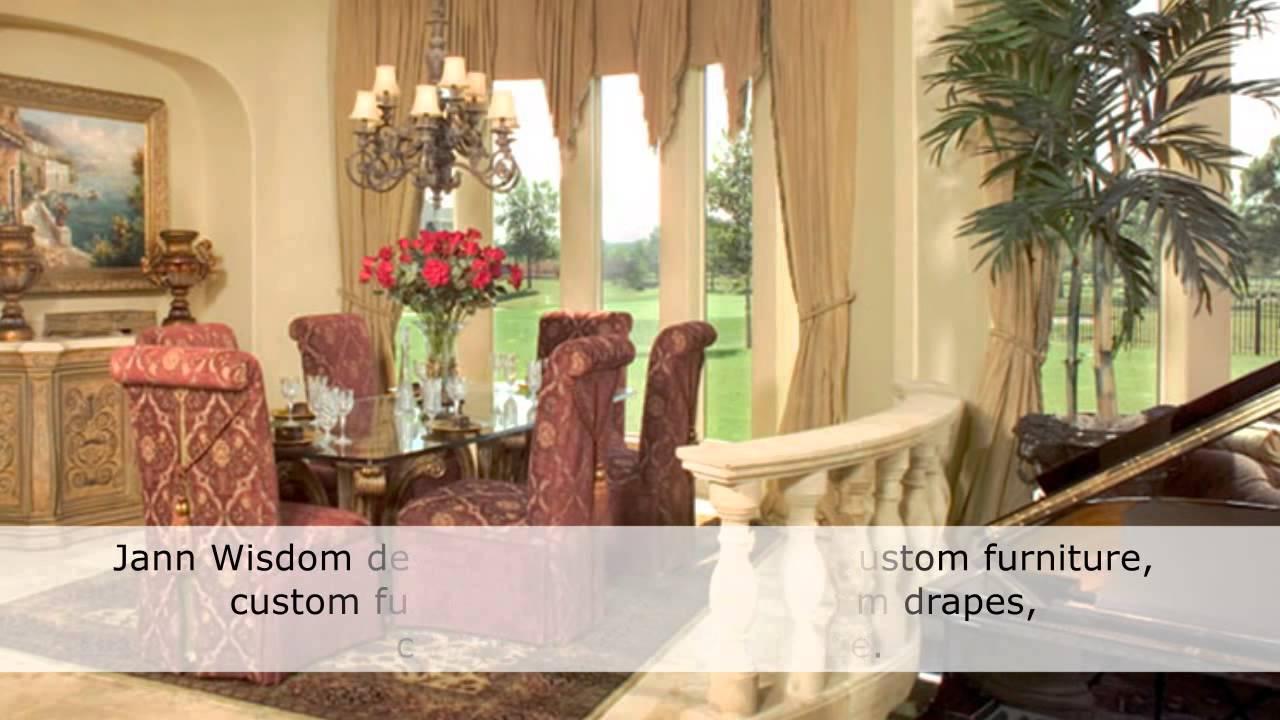 Jann Wisdom - Top Interior Designer in Houston - YouTube
