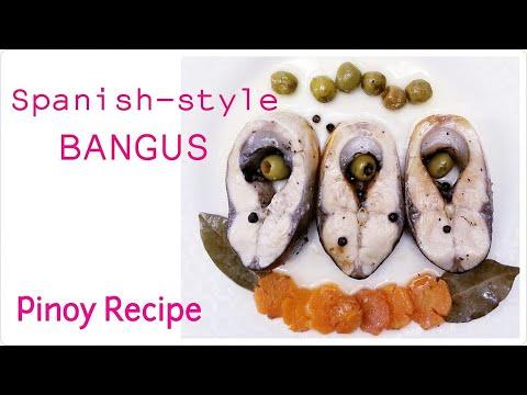 BANGUS SPANISH-STYLE  (PINOY RECIPE)