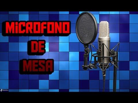 Como Hacer Un Microfono De Mesa Casero En 5 Minutos Muy Fácil! - KeVeWo Tv