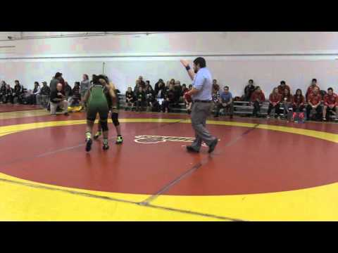 2015 Dino Invitational: 55 kg Chantel Pansion vs. Farah Taj