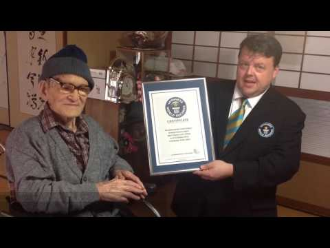 Oldest Living Man (2012) – Jiroemon Kimura