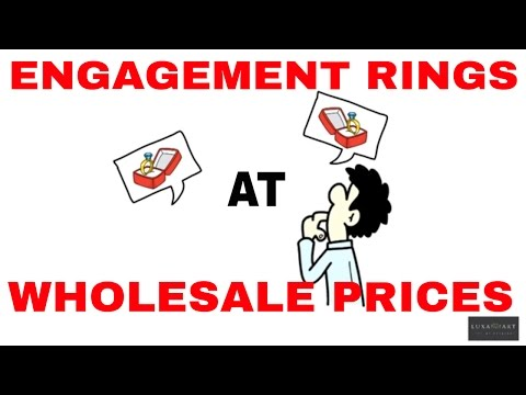 Engagement Rings At Wholesale Prices By Luxamart Jewelry Exchange