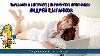 Заработок в интернете | Партнерские программы | Андрей Цыганков