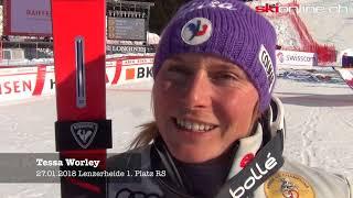 Tessa Worley, Viktoria Rebensburg und Meta Hrova im Interview